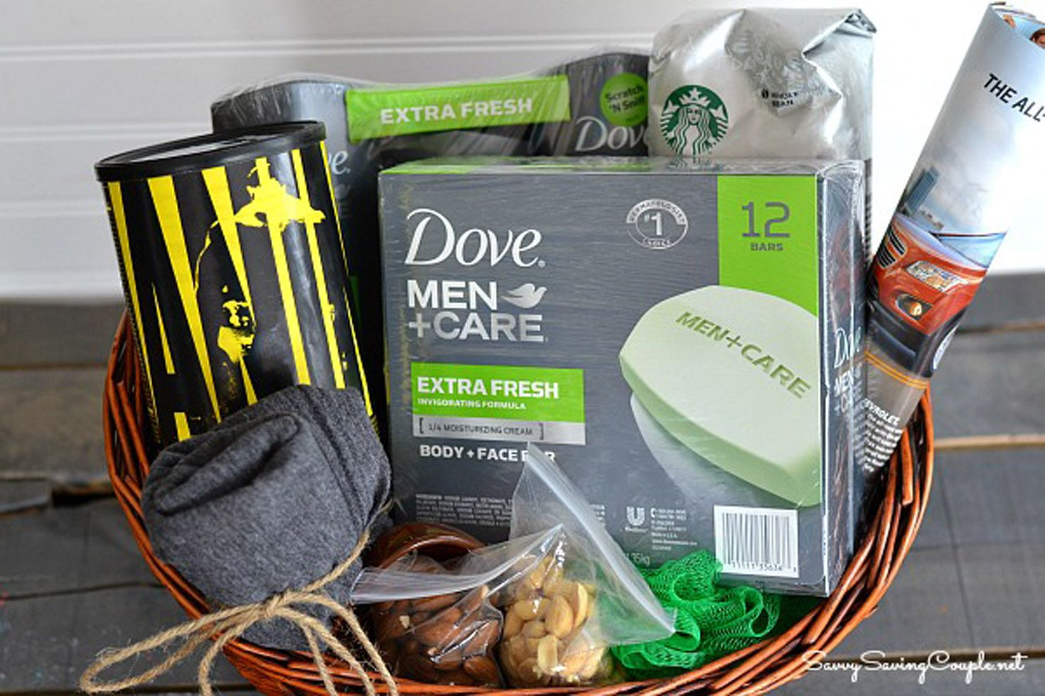 20 DIY Fathers Day Gift Baskets