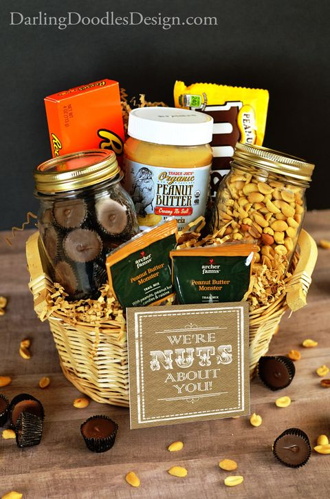 Fathers Day Gifts Baskets Nuts