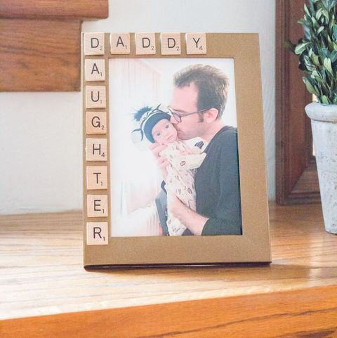 father's day crafts preschool practically functional daddy daughter scrabble picture frame