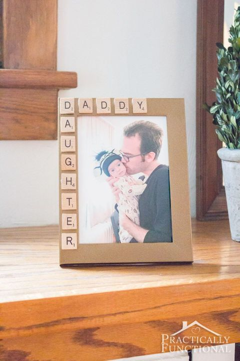 Daddy Daughter Picture Frame - Father's Day Crafts