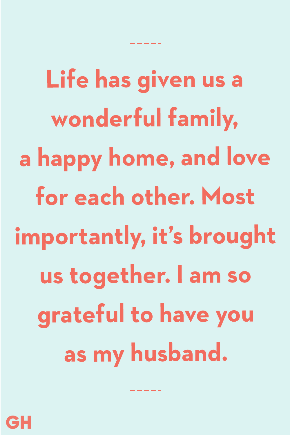 Father's Day Quotes From Wife Life Brought Us Together