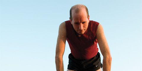 fatigued runner