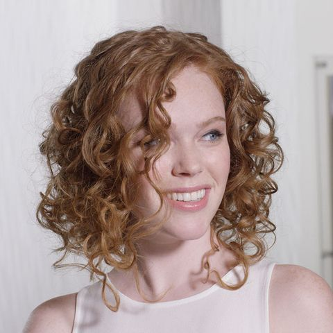 Faux Bob curly hair