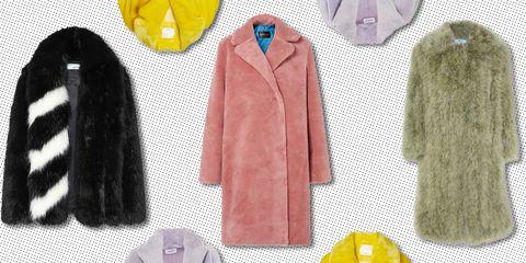 9954357c6f faux fur coat 2018 - faux fur jacket .