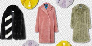 faux fur coat 2018 - faux fur jacket