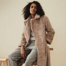 Best faux fur coats women's - Faux fur coats on the high street