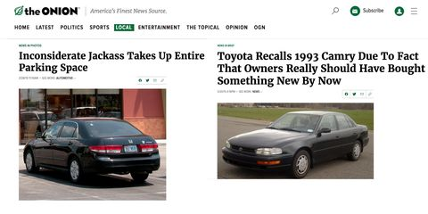 Covers from TheOnion