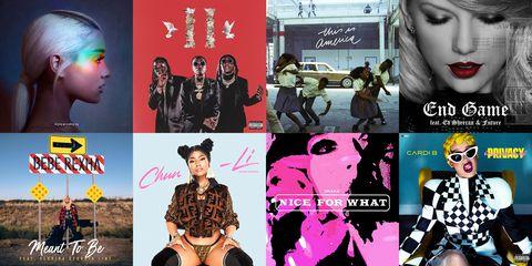 recent favorite songs best 2018