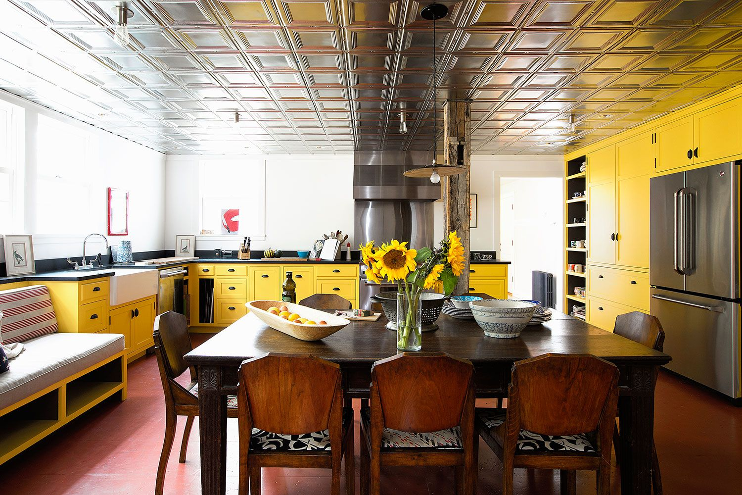 21 yellow kitchen ideas to brighten up your home