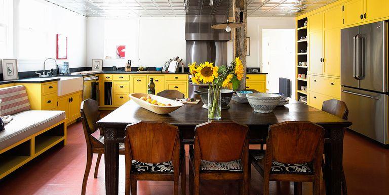 yellow kitchens - Yellow Kitchen