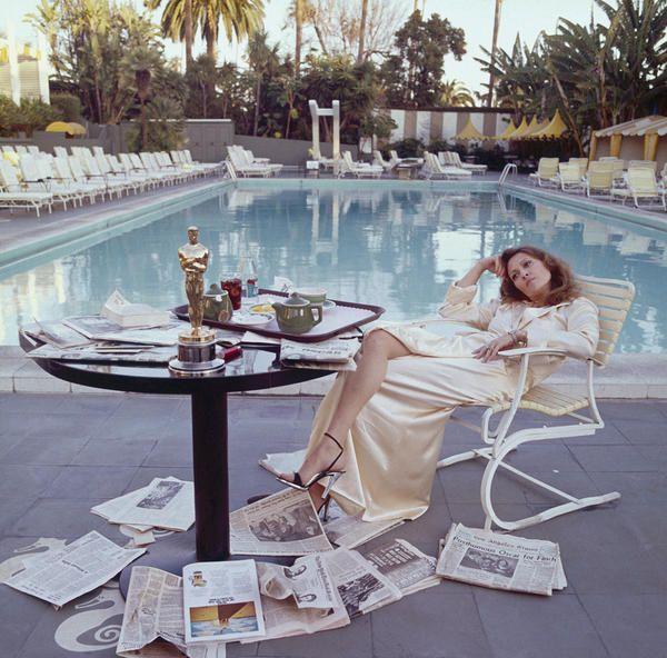 Faye Dunaway la diva piena di stile nei chiassosi anni 70