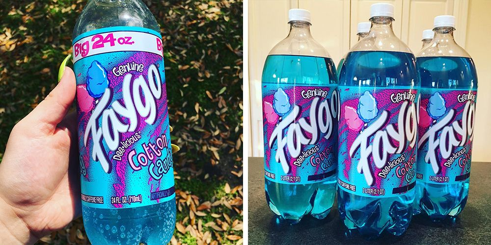 You Can Get Soda That Tastes Like Cotton Candy And It's Like A Carnival In A Bottle