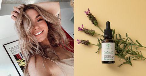 Hair, Skin, Product, Beauty, Blond, Plant, Hand, Eyelash, Herbal, Long hair,