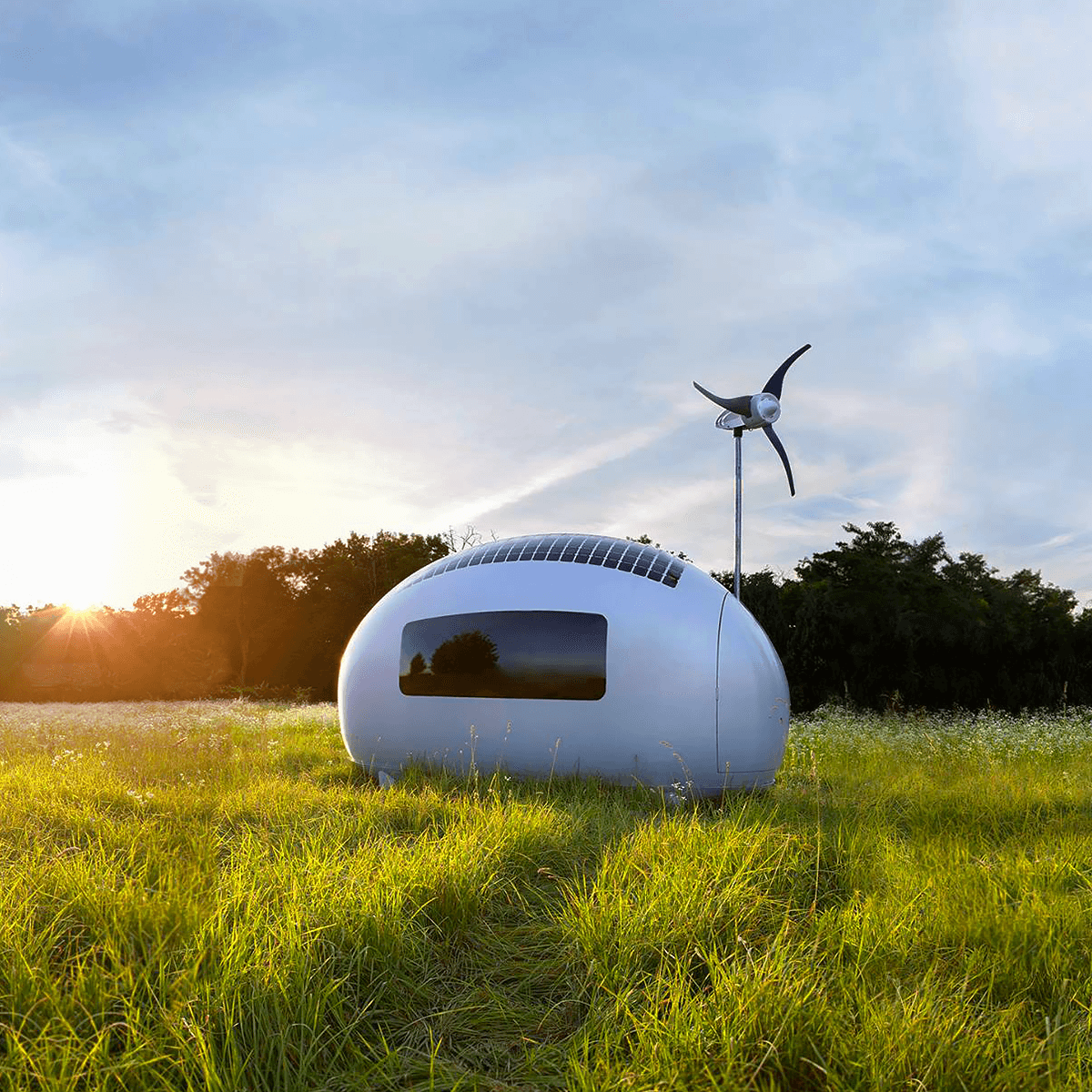 The Ecocapsule Microhome Is Basically a Mobile Hotel Room You Can Take Anywhere