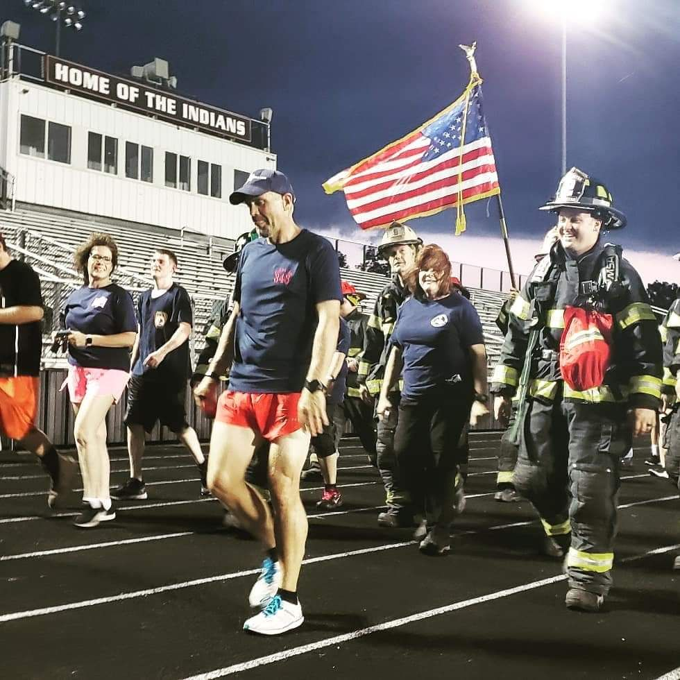The Inspiring Reason This Man Ran 343 Laps Around a Track on September 11