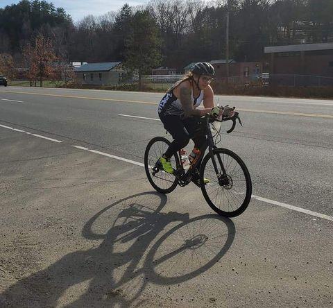cycling weight loss tatianna wawrzynski