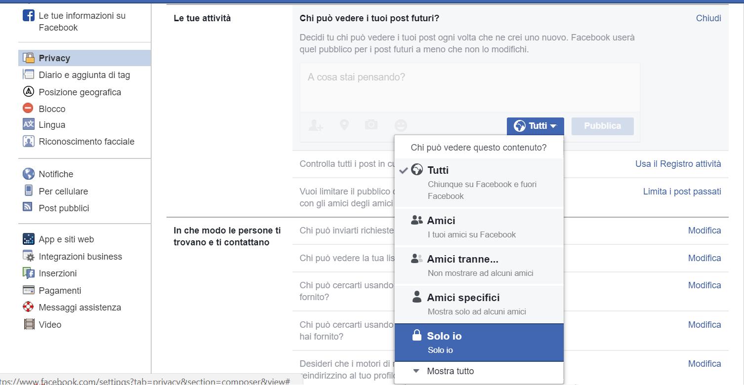 Come diventare invisibili su Facebook senza cancellarsi