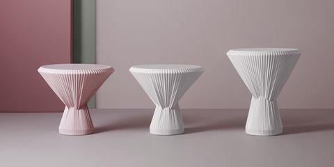 Il tavolino Plisago di Fustenberg