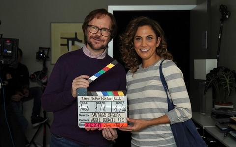 Santiago Segura y Toni Acosta