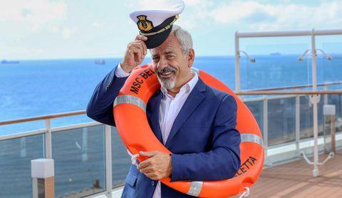 First Dates Crucero. Carlos Sobera