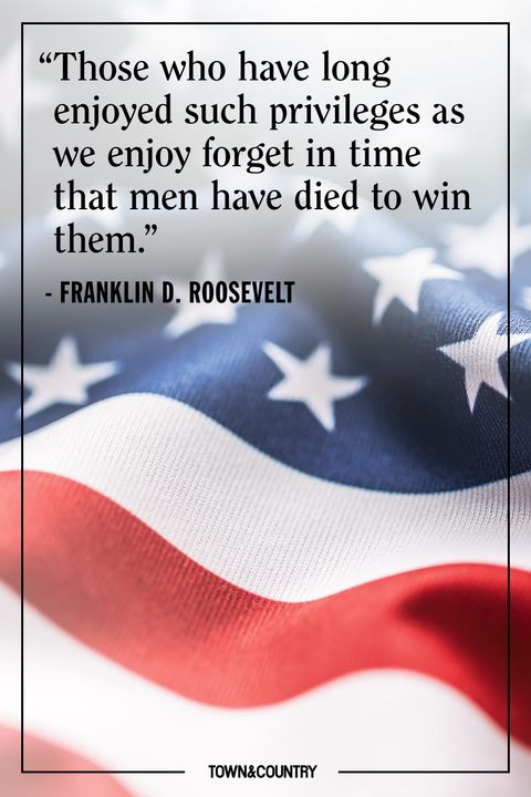 fdr memorial day quote
