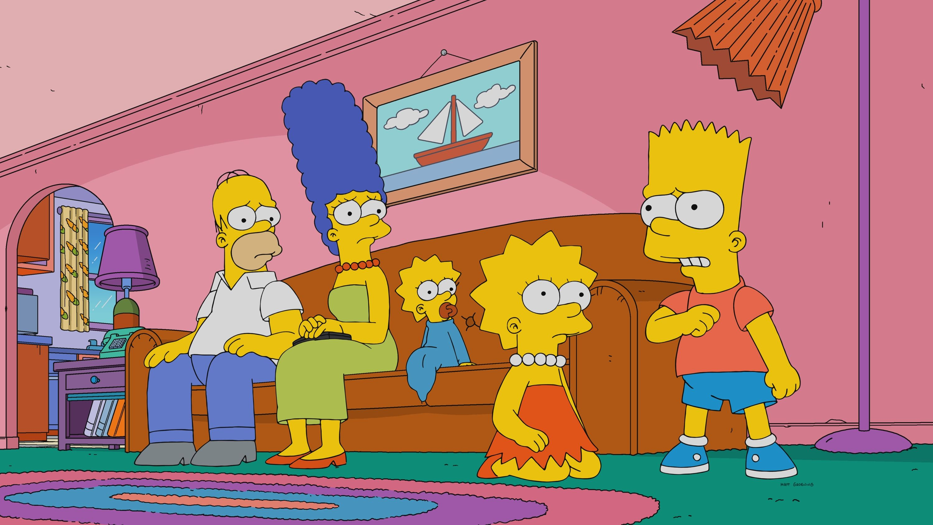 Homer and Marge Simpson's iconic house has been given a stylish makeover