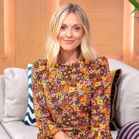 Fearne Cotton in Nobody's Child floral dress on This Morning