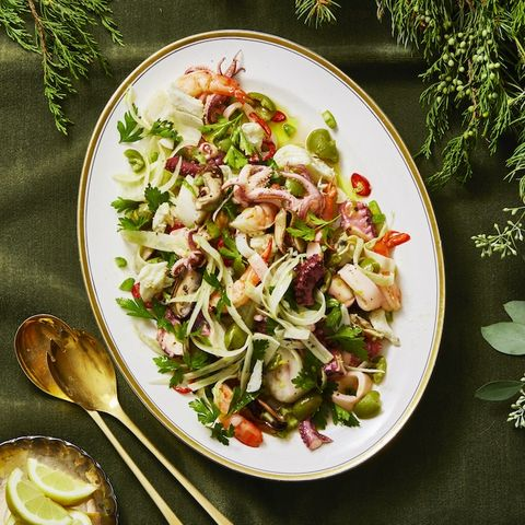 feast of the seven fishes salad