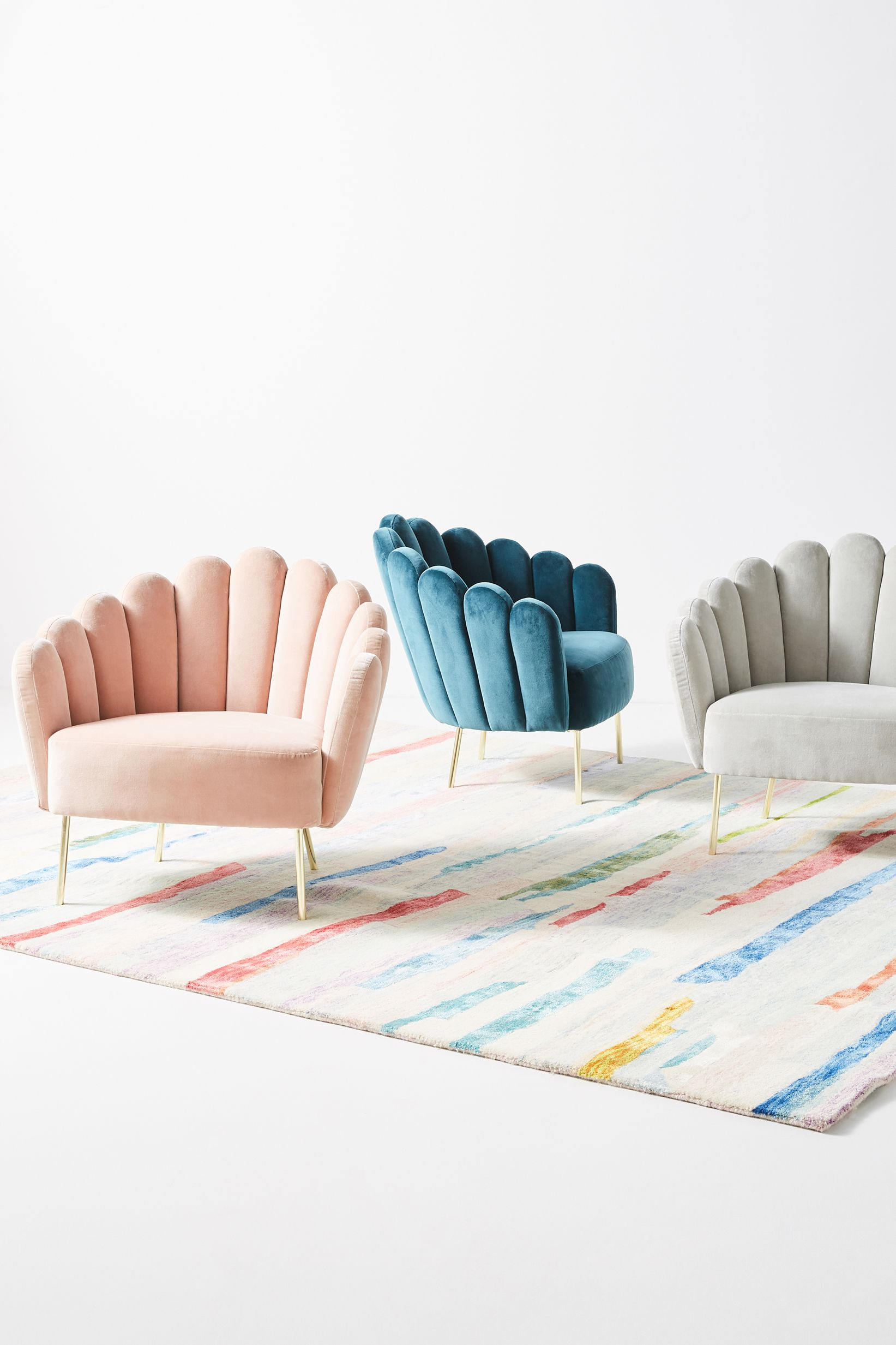 Anthropologie Chairs & Anthropologieu0027s New Collaboration With Bethan Gray Features Retro ...