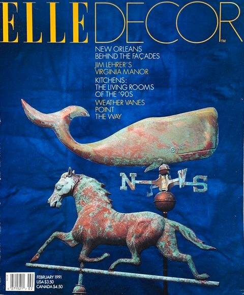 Elle Decor February 1991