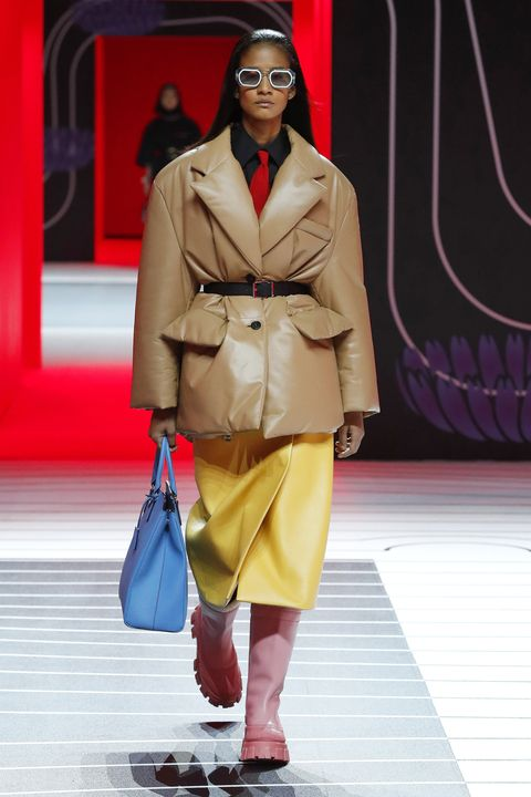 prada   runway   milan fashion week fallwinter 2020 2021