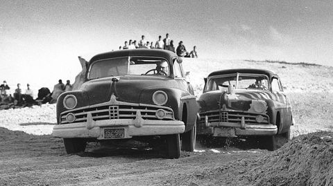 harold kitefrank luptow   daytona nascar 1950