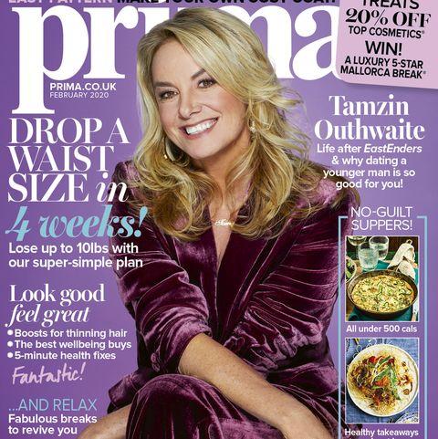 Prima new issue Tamzin Outhwaite
