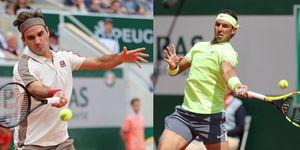 Roger Federer y Rafael Nadal se enfrentan en la semifinal de Roland Garros 2019