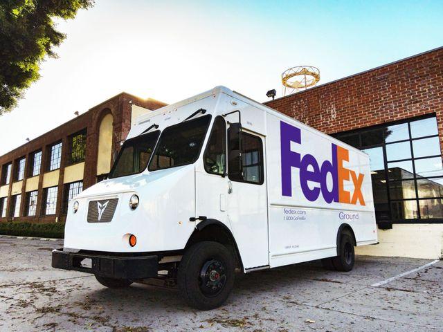 2021 xos fedex truck