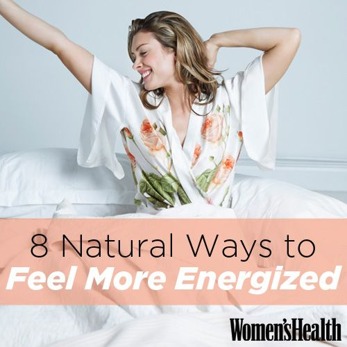 8 Natural Ways to Feel More Energized