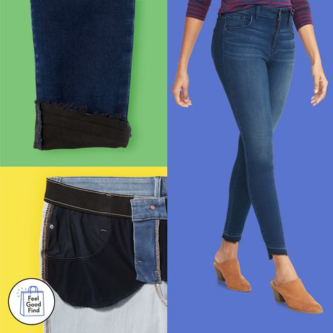 4066a7eb Old Navy's Built-In Warm Jeans Are Essential for Winter