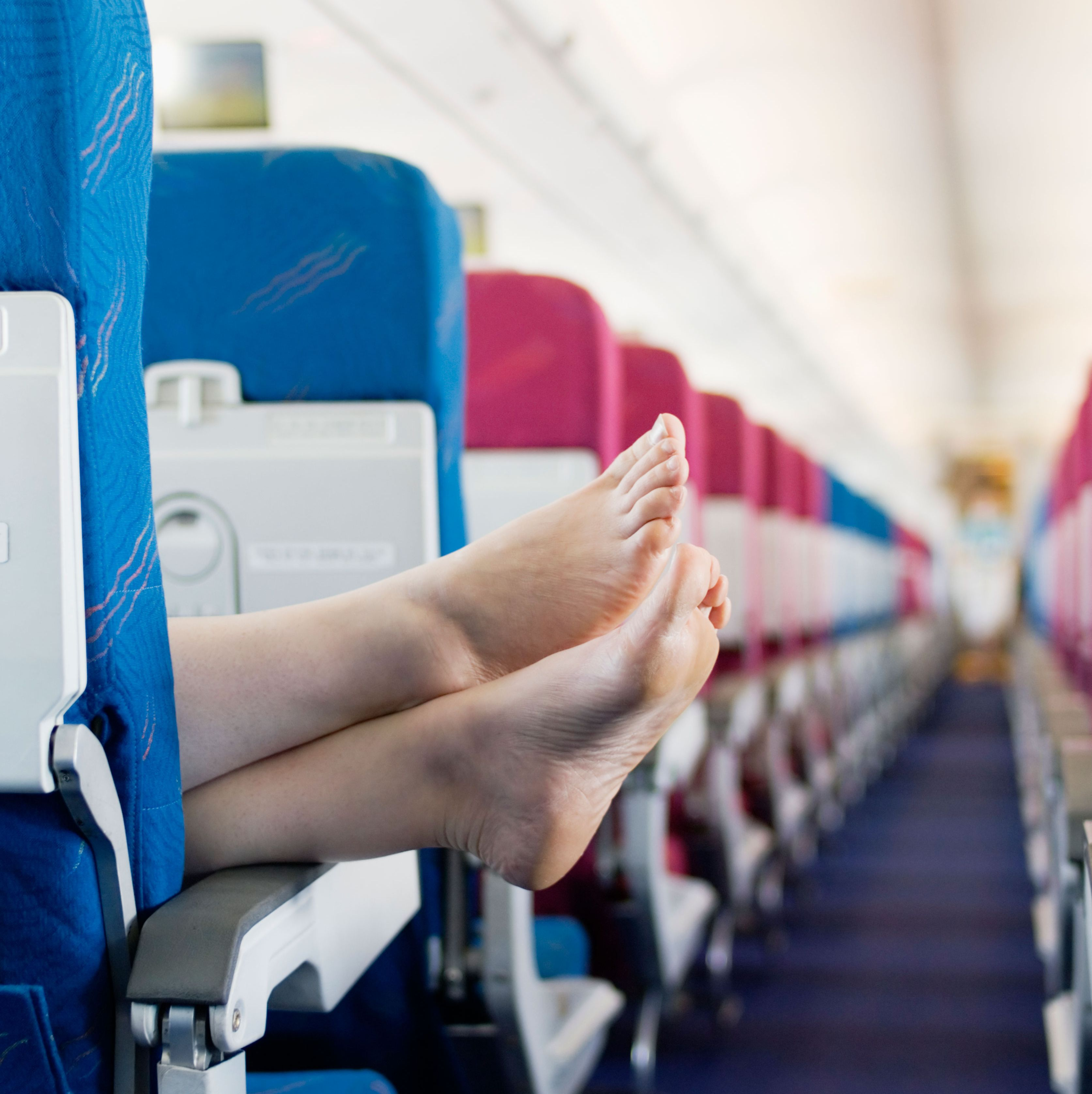 Please Keep Your Stinky Feet Off My Airplane Seat