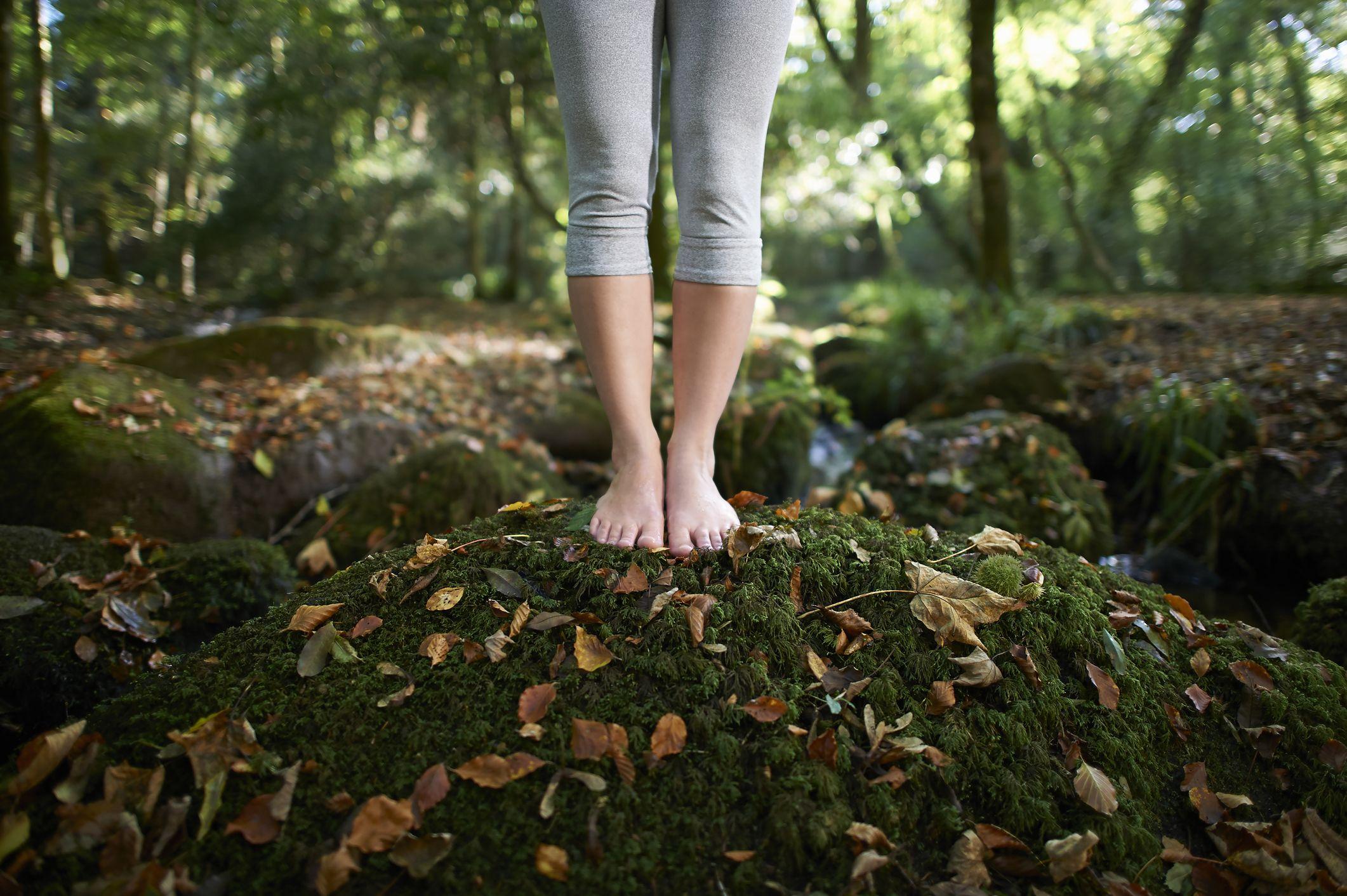 Mima tus pies en otoño