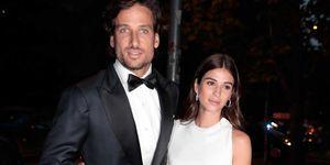 Feliciano López y Raquel Gago en lafiesta Vogue