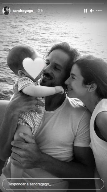 feliciano lópez y sandra gago disfrutan de sus primeras vacaciones junto a su hijo darío