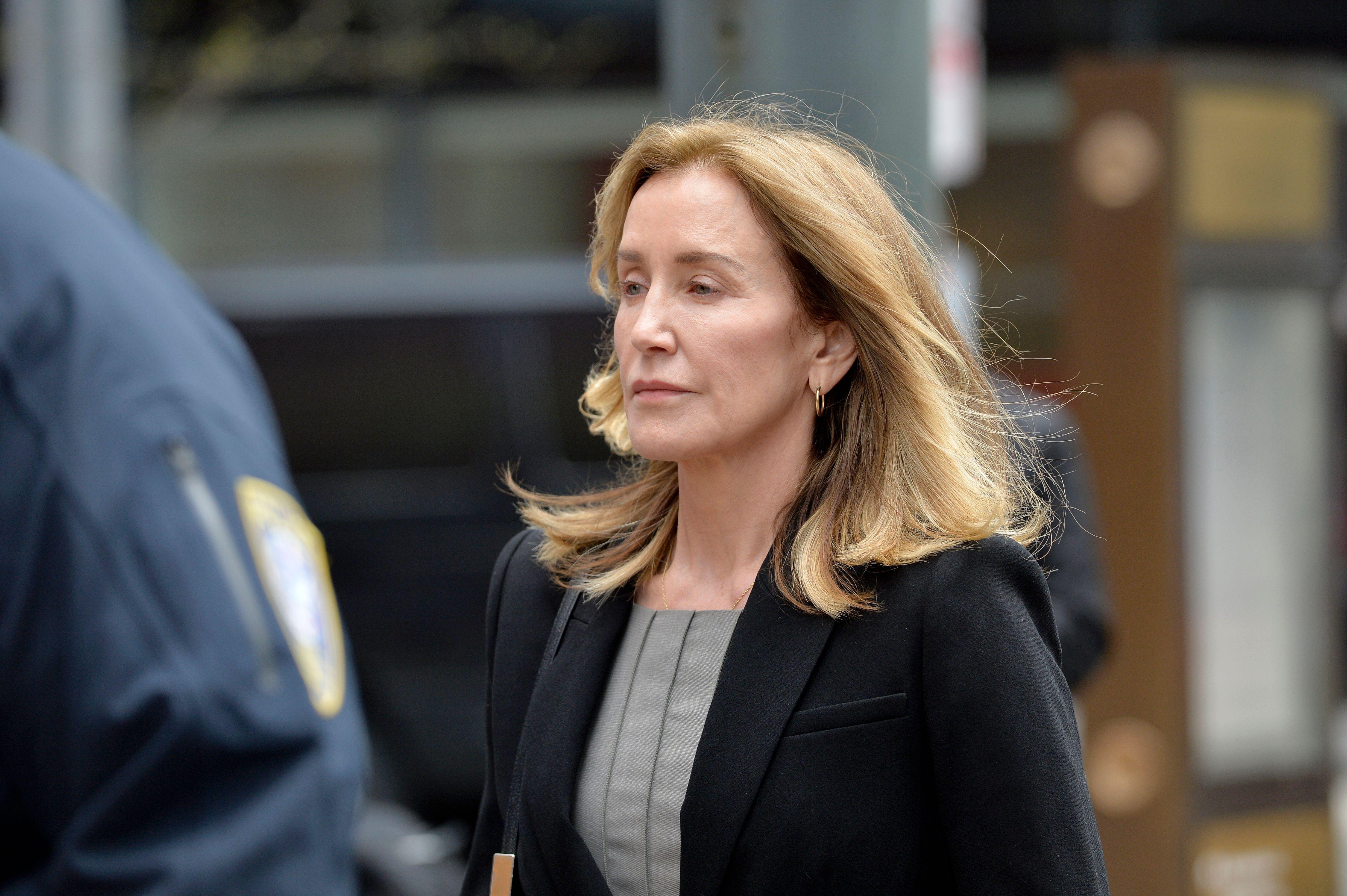 Desperate Housewives star Felicity Huffman gets prison sentence over university scandal