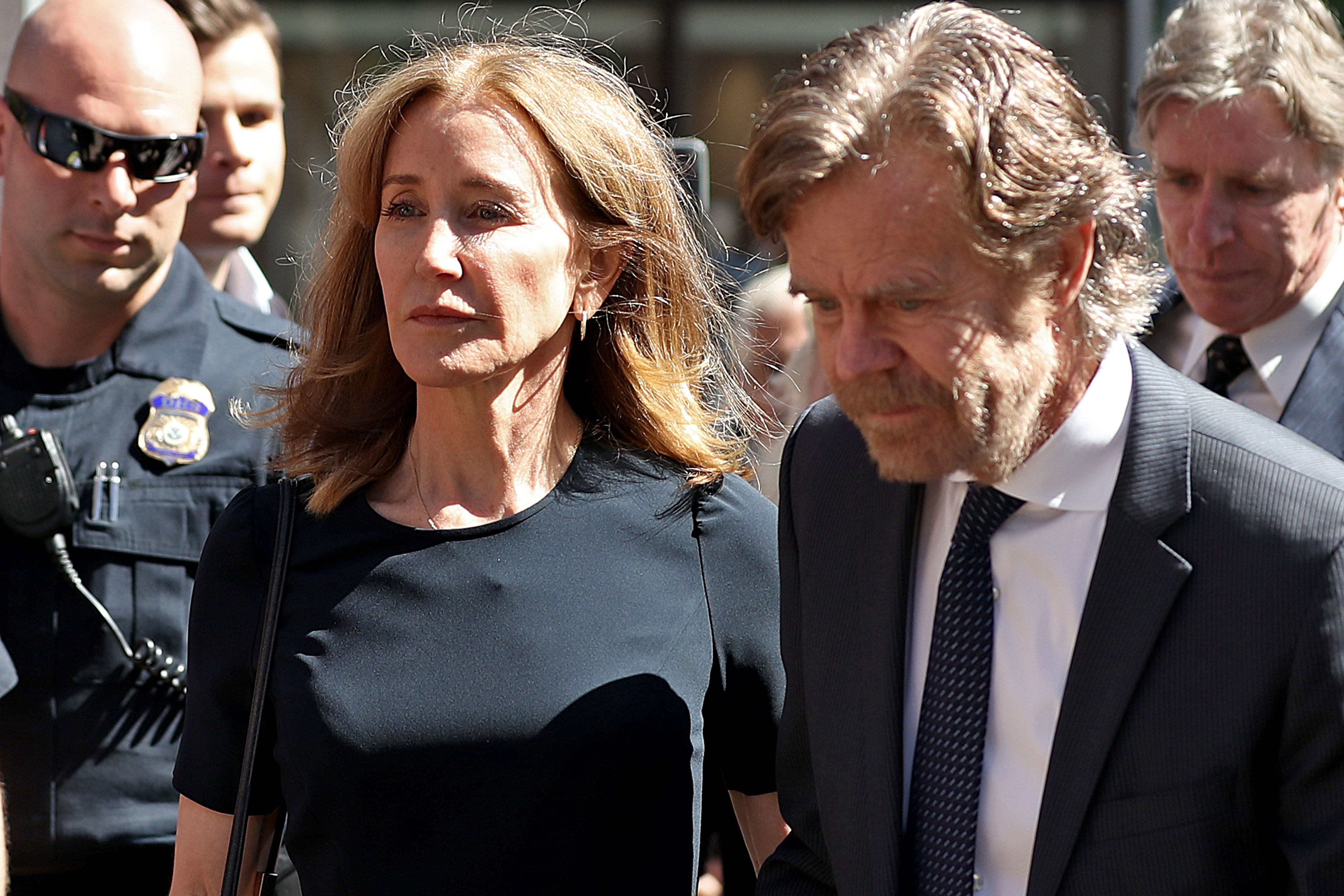 Felicity Huffman sentenced to prison over college bribery scandal
