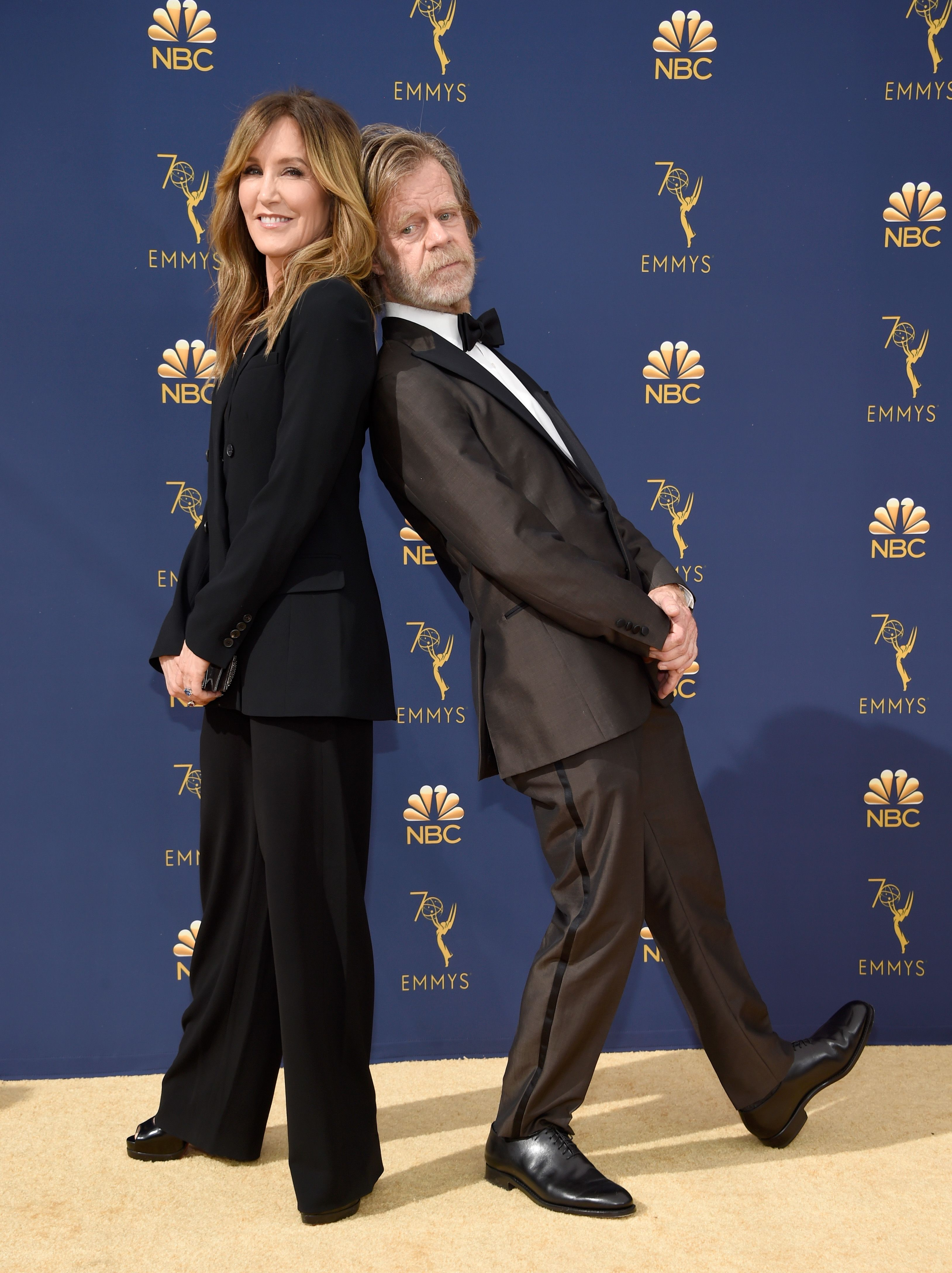 The couple at the 2018 Emmy Awards.