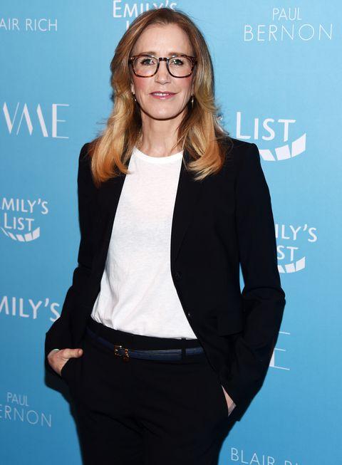 Felicity Huffman-EMILY's List 2nd Annual Pre-Oscars Event - Arrivals