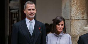 Felipe VI y Letizia celebran su 15 aniversario de boda.