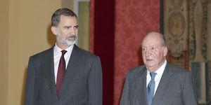Felipe VI y don Juan Carlos