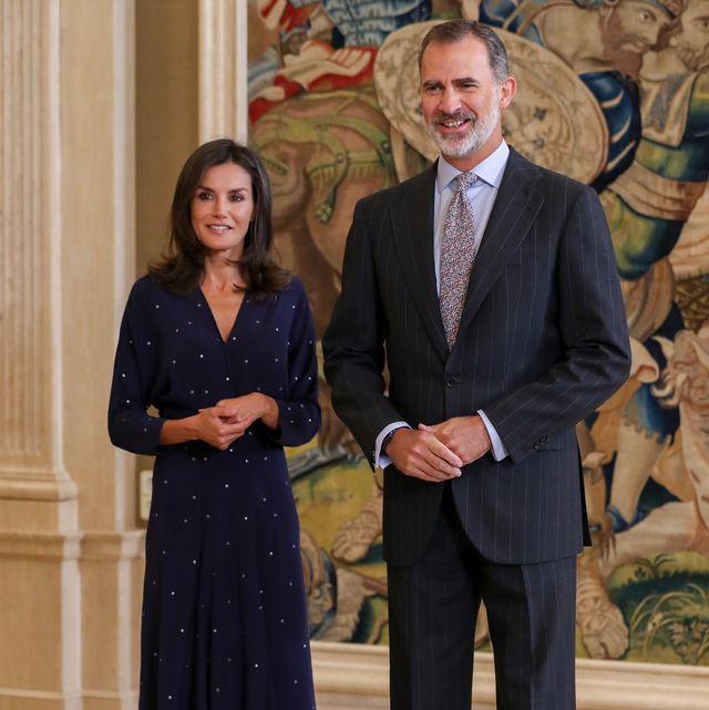 reyes felipe y letizia audiencia palacio de la zarzuela