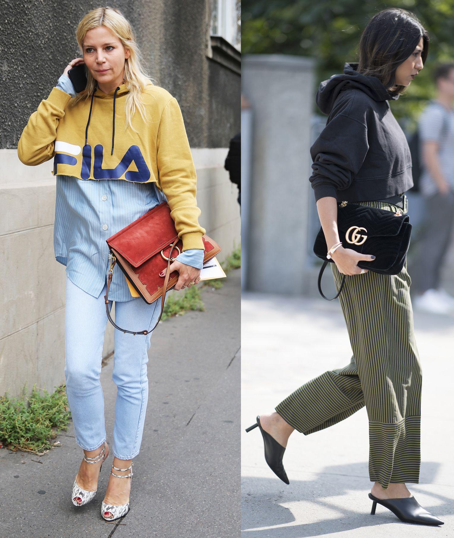 Moda 2018 Felpe Estate 9 Le Abbinare Outfit Donna Per XuwZPTOki