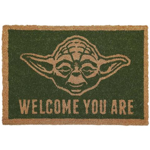 Felpudo de Yoda de Star Wars